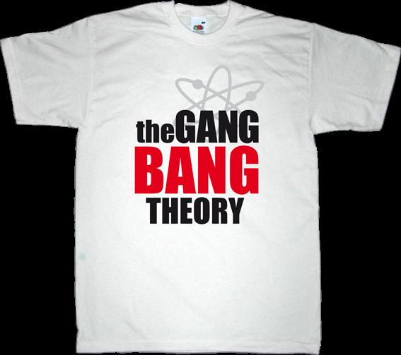 The Big Bang Theory tv show adult entertainment fun t-shirt ephemeral-t-shirts