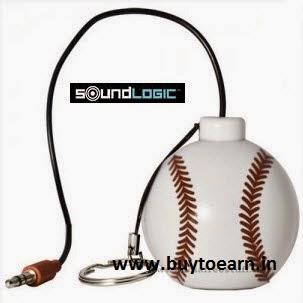 Amazon: Buy Soundlogic Rechargeable Sports Keychain Speaker Rs. 399