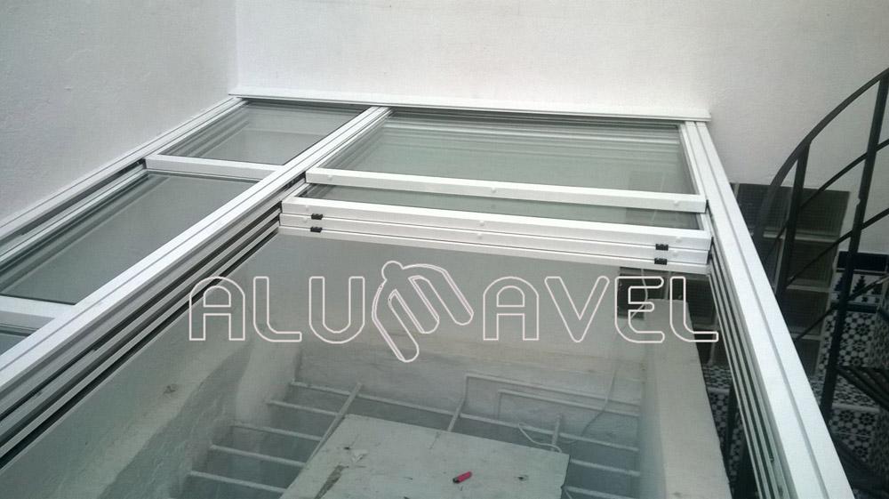 Techos de vidrio a continuacin algunas imgenes de con for Cocina separada por un techo de vidrio