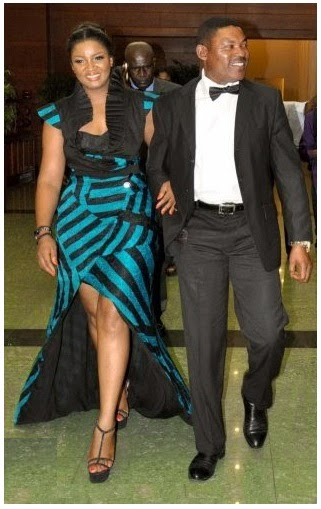 Omotola-Ekeinde-with-captain-Ekeinde-husband
