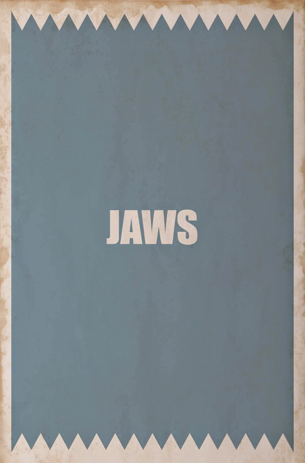 Minimalist Movie Posters Jaws