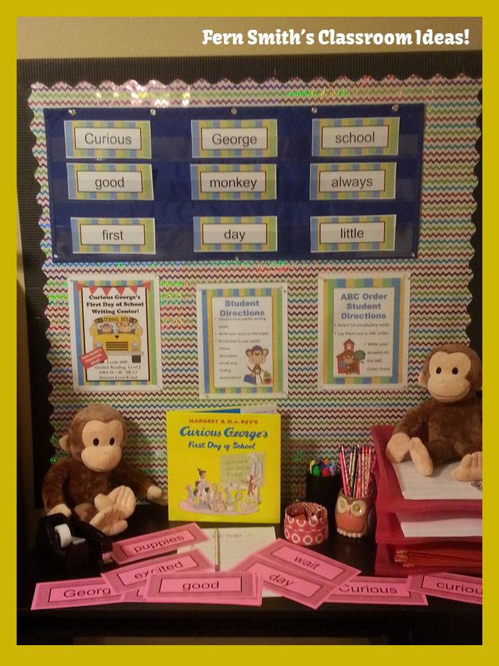 Fern Smith' s Curious George's First Day of School BIG Giveaway!