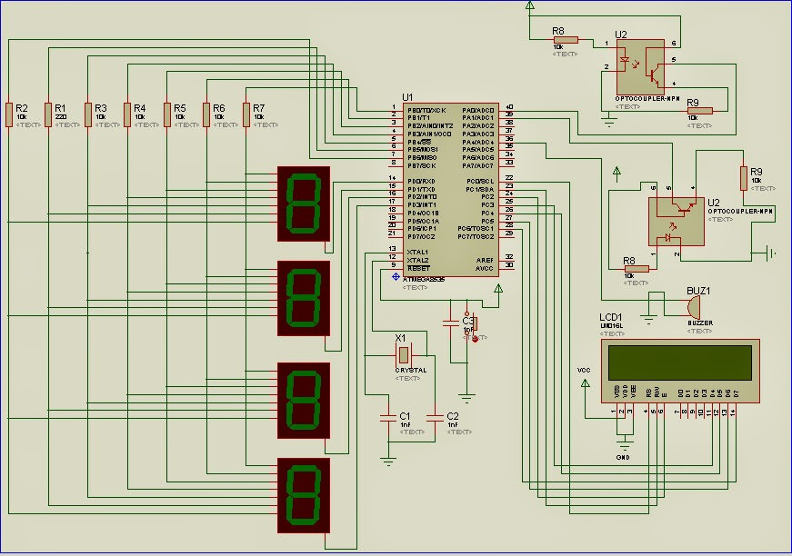 Cara Membuat Sistem  Pemilihan Umum Berbasis Mikrokontroler Atmega8535 Dengan Menggunakan Bahasa C
