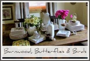 Barnwood, Butterflies & Birds