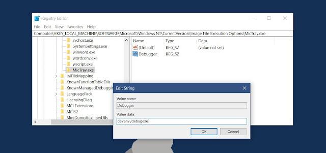 لكل من يملك حاسوب محمول HP سارع بحذف فيروس keylogger قبل ان يتم اختراقك mic-tray-debugger-ke