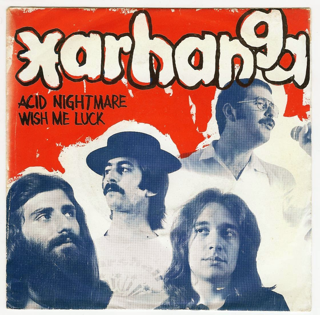 Xarhanga Acid Nightmare single 1973