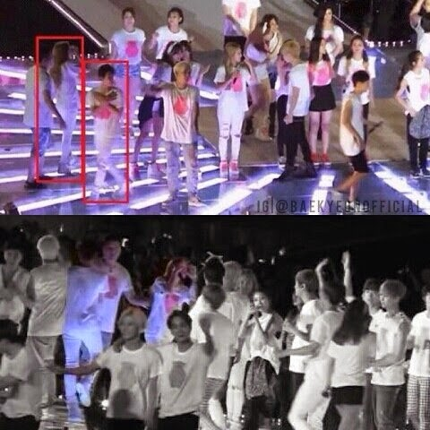 taeyeon baekhyun dating netizenbuzz Around 2014 during the time exo was busy promoting overdose there were rumors and speculation that baekhyun and taeyeon were dating the media and korean netizen.
