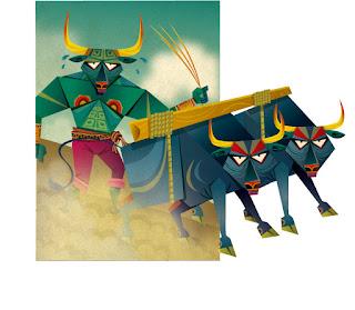 ilustracion hijo toro