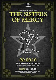 THE SISTERS OF MERCY (2da VEZ) DISCOTECA CENTRICA. 22 DE SETIEMBRE 2016