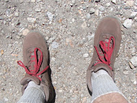 New Vasque boots performed superbly on hike to Mount Islip, Crystal Lake, Angeles National Forest