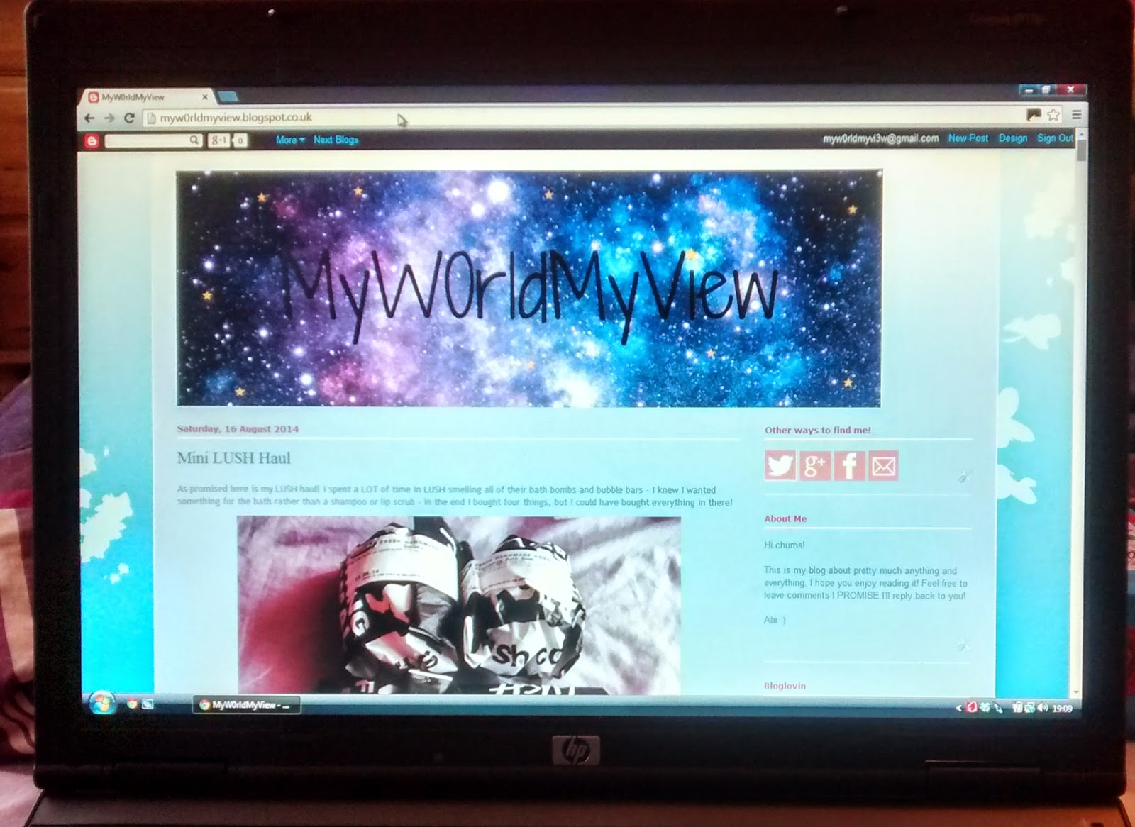 blogging myw0rldmyview