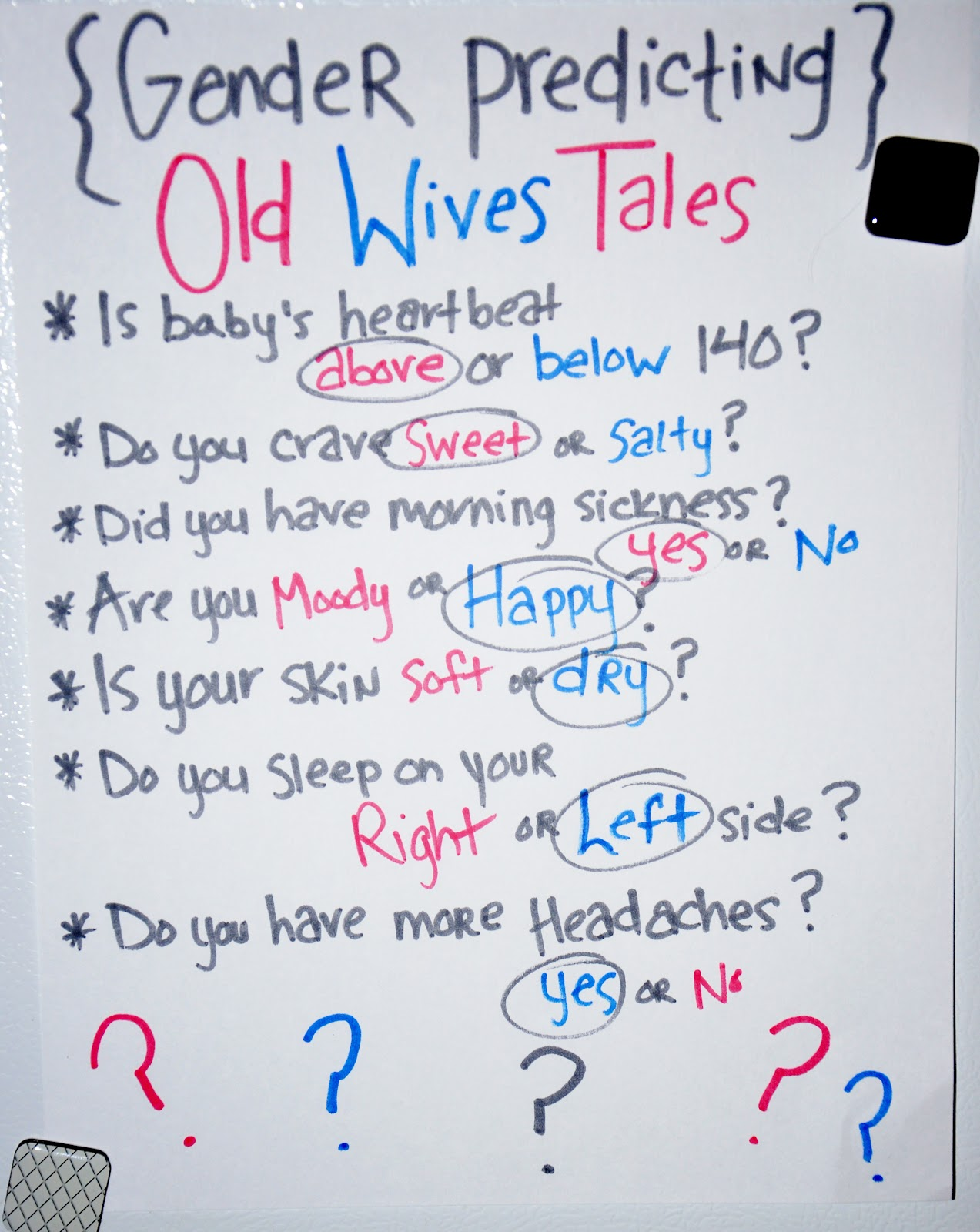 Baby sex wives tales — 2