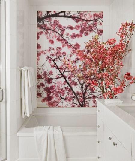 kamar mandi cantik penuh warna rumah idamanku