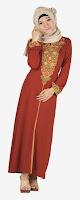 Baju Lebaran Merah Turkish