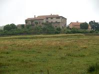 El conjunt de Vilanova des del Camp de l'Alzina Grossa