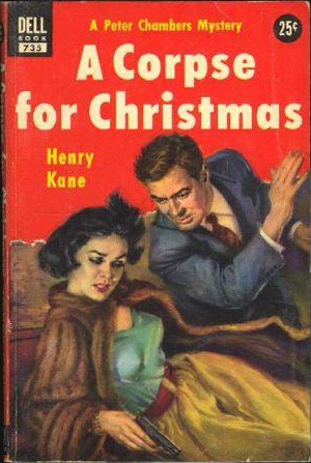 Rough Edges: Forgotten Books: A Corpse for Christmas - Henry Kane