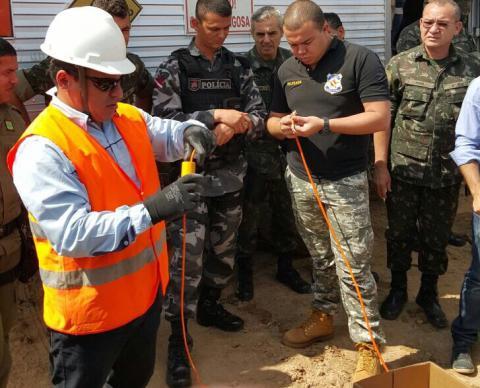 Policiais civis participam de cursos sobre manuseio de explosivos e patrulha rural em Altamira