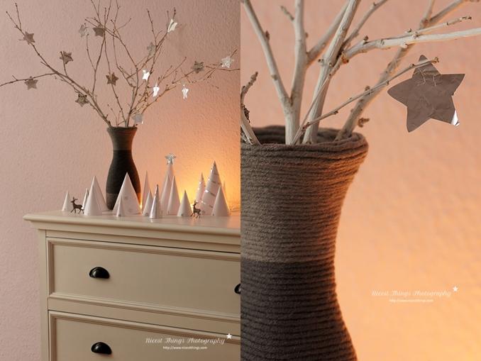 Kommode Weihnachtlich Dekorieren : Und der evilHalloweenFledermausbusch (wisst ihr noch? HIER ) ist nun