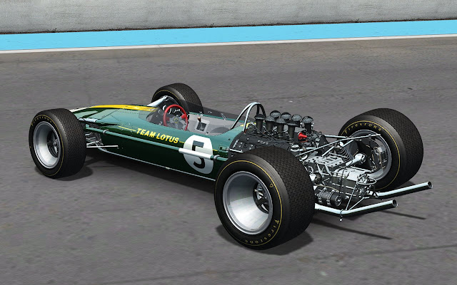 Nuevo mod rFactor por Sandrox Lotus 49 potencia