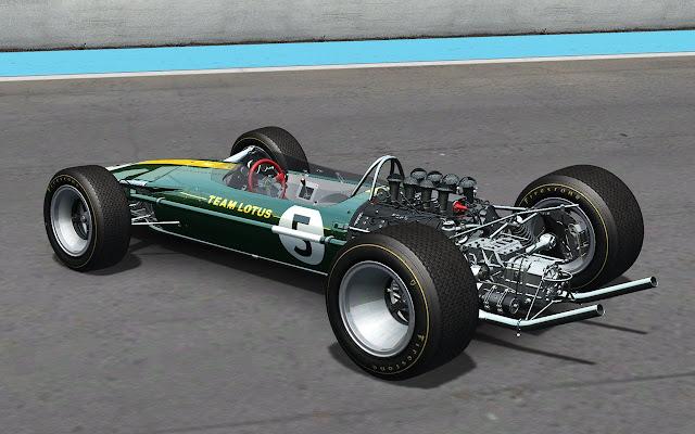 Nuevo mod rFactor por Sandrox Lotus 49 potencia