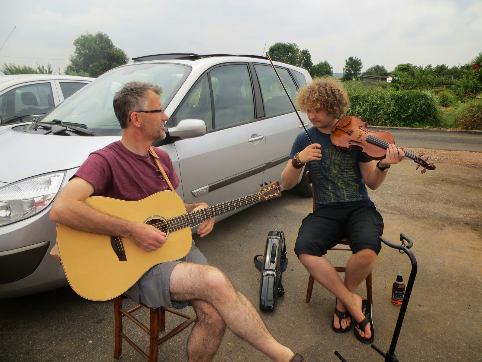 live music from the locals throughout the bbq was lovely.