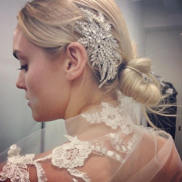 Lindos peinados de novias | Moda peinados recogidos