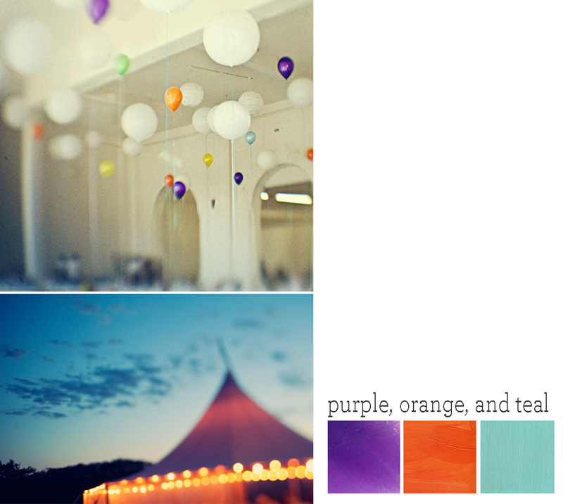 To see more purple orange teal ideas check out my inspiration board here