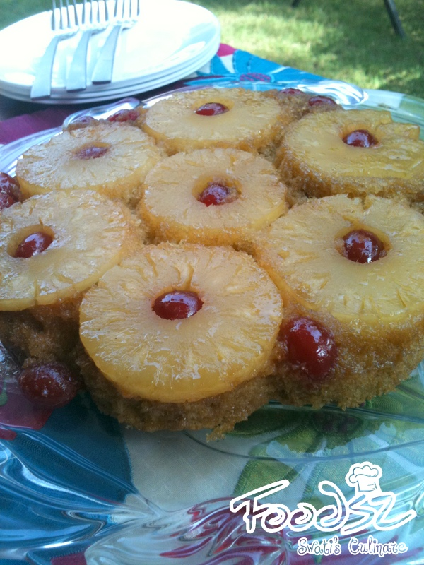Easy Pineapple Upside Down Cake Using Cake Mix