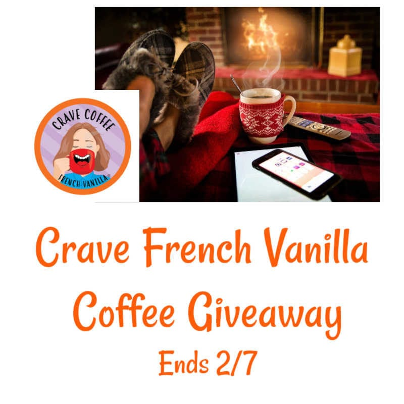 Crave French Vanilla Coffee Giveaway