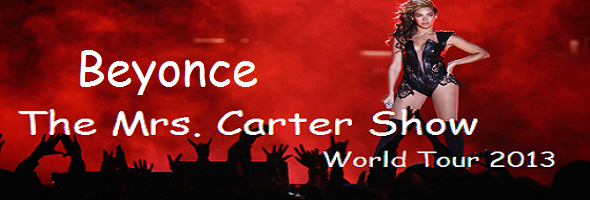 Beyonce Announces The Mrs. Carter Show World Tour 2013