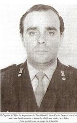 Capitán Juan Carlos Leonetti