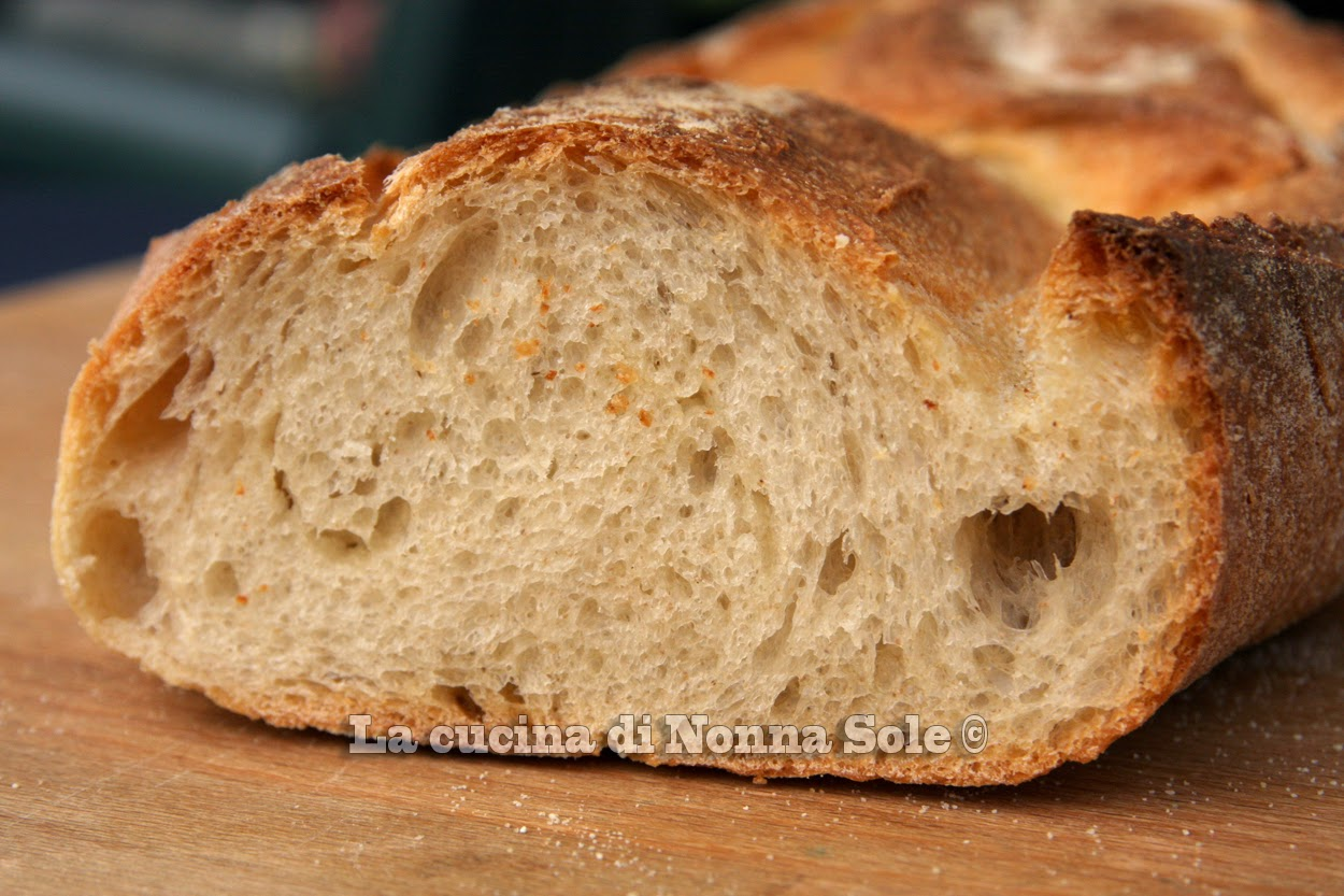 il mio solito pane ma con pasta madre