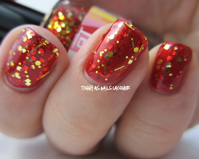 Tough As Nails Lacquer: Kawaii Nail Lacquer: Gryffindor