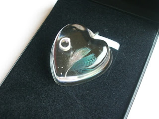 Budgie Feather Keepsake Jewellery