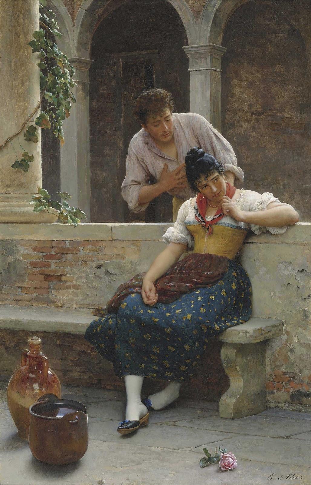 Eugene de  laas The Proposal Christies