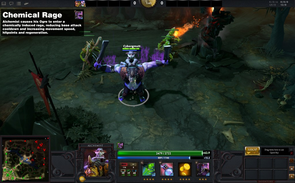 dota 2 alchemist preview gameplay guide dota 2 throne