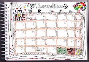 Kalenterihaaste 2013