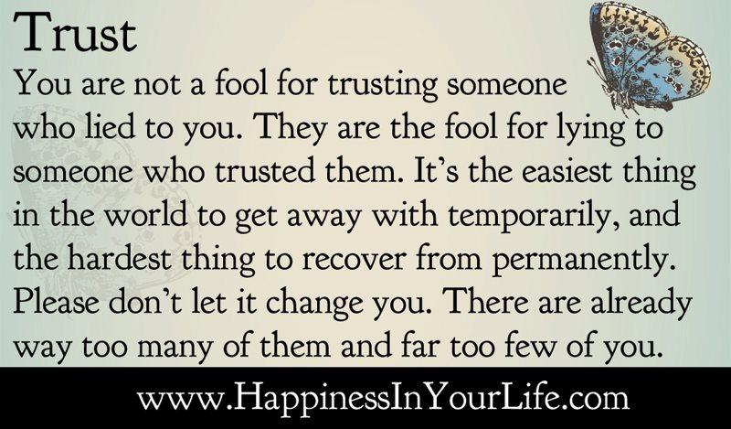 2 Quote: Quotes On Trust Nobody