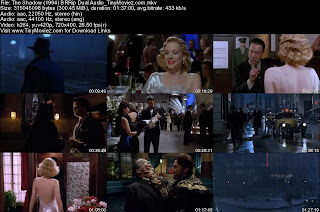 The Shadow 1994 BRRip Dual Audio 300MB