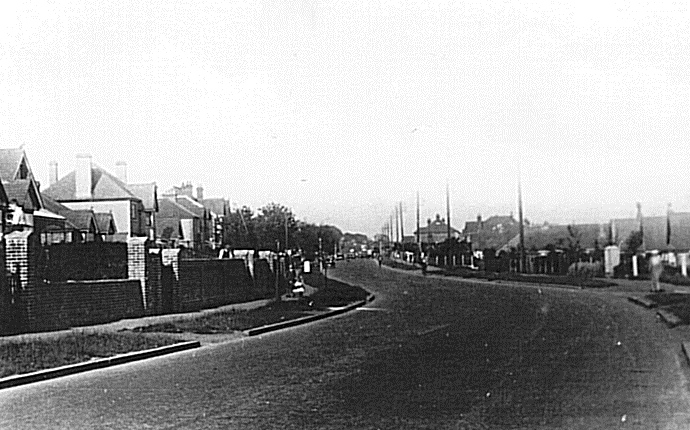Havant Road at the top of South Road