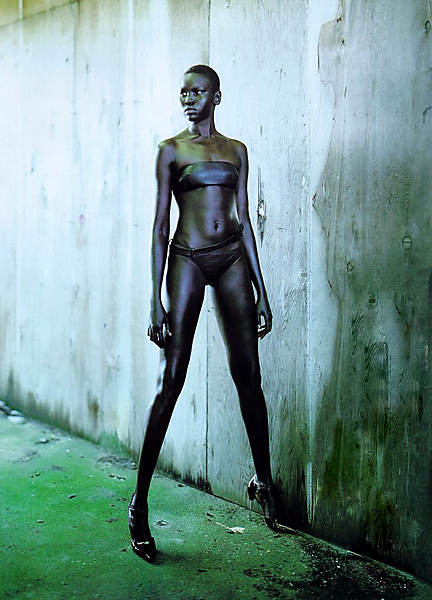 FASHION EXTRA: Alek Wek makes her way back home for ...