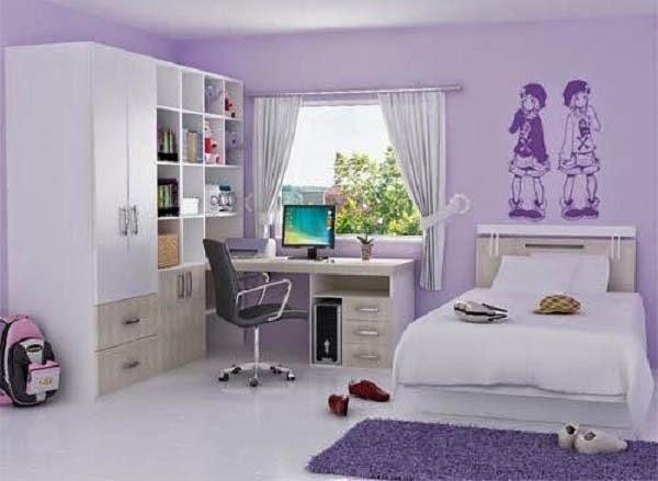Desain kamar tidur anak perempuan 3
