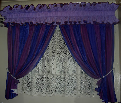 Clever Needle Designs Bathroom Curtains