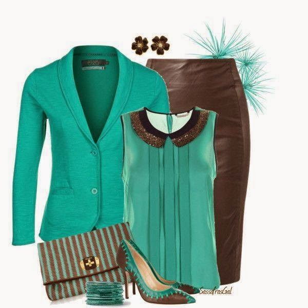 Green Casual Ladies Outfits Ideas...