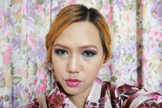 yukata makeup