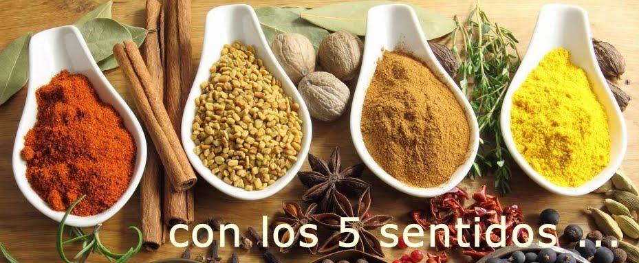 con los 5 sentidos .... amb els 5 sentits