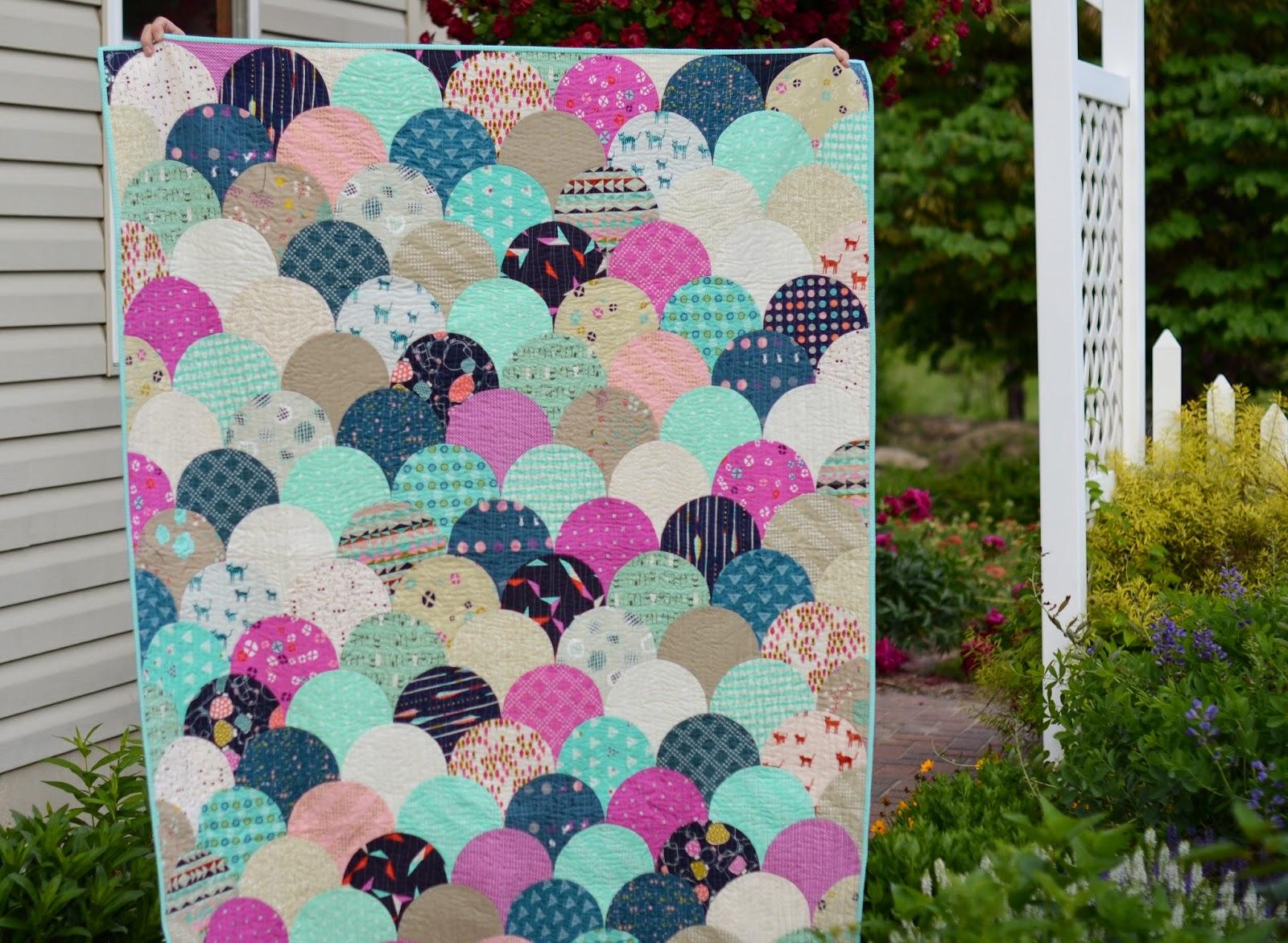 Hyacinth Quilt Designs: Glamclam Quilt!!! : hyacinth quilt designs - Adamdwight.com