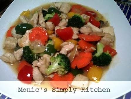 resep masakan tumis ayam brokoli