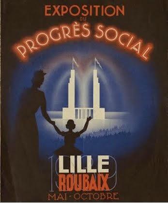 Affiche de l'expo du Progrès Social