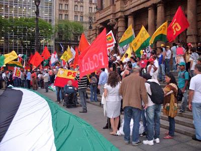 Ato histórico em São Paulo pelo Estado da Palestina Já - foto 17